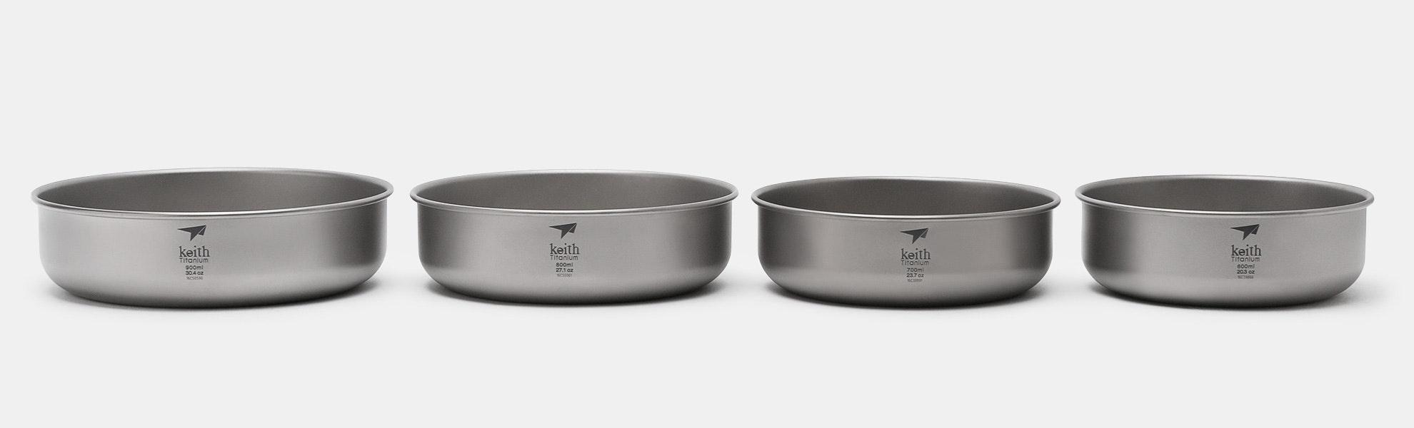 Keith Titanium Ti5376 4-Piece Bowl Set