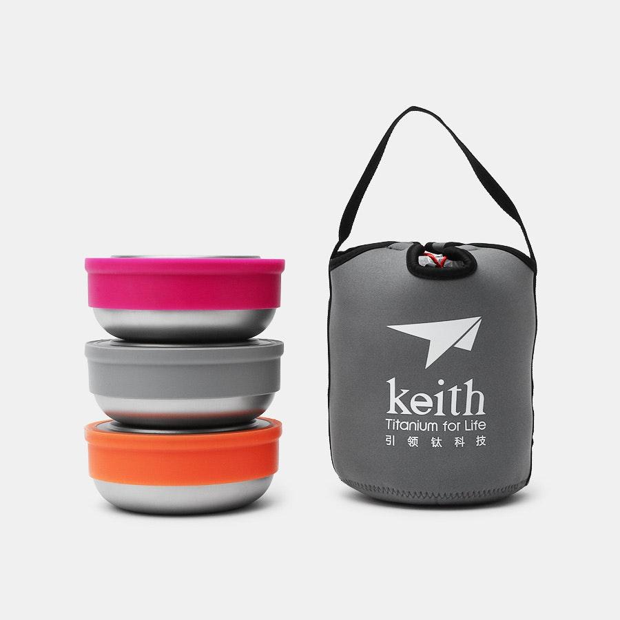 Keith Titanium Ti5378 Fresher Bowl Set