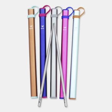 Keith Titanium Ti5820 Round Chopsticks (2-Pack)
