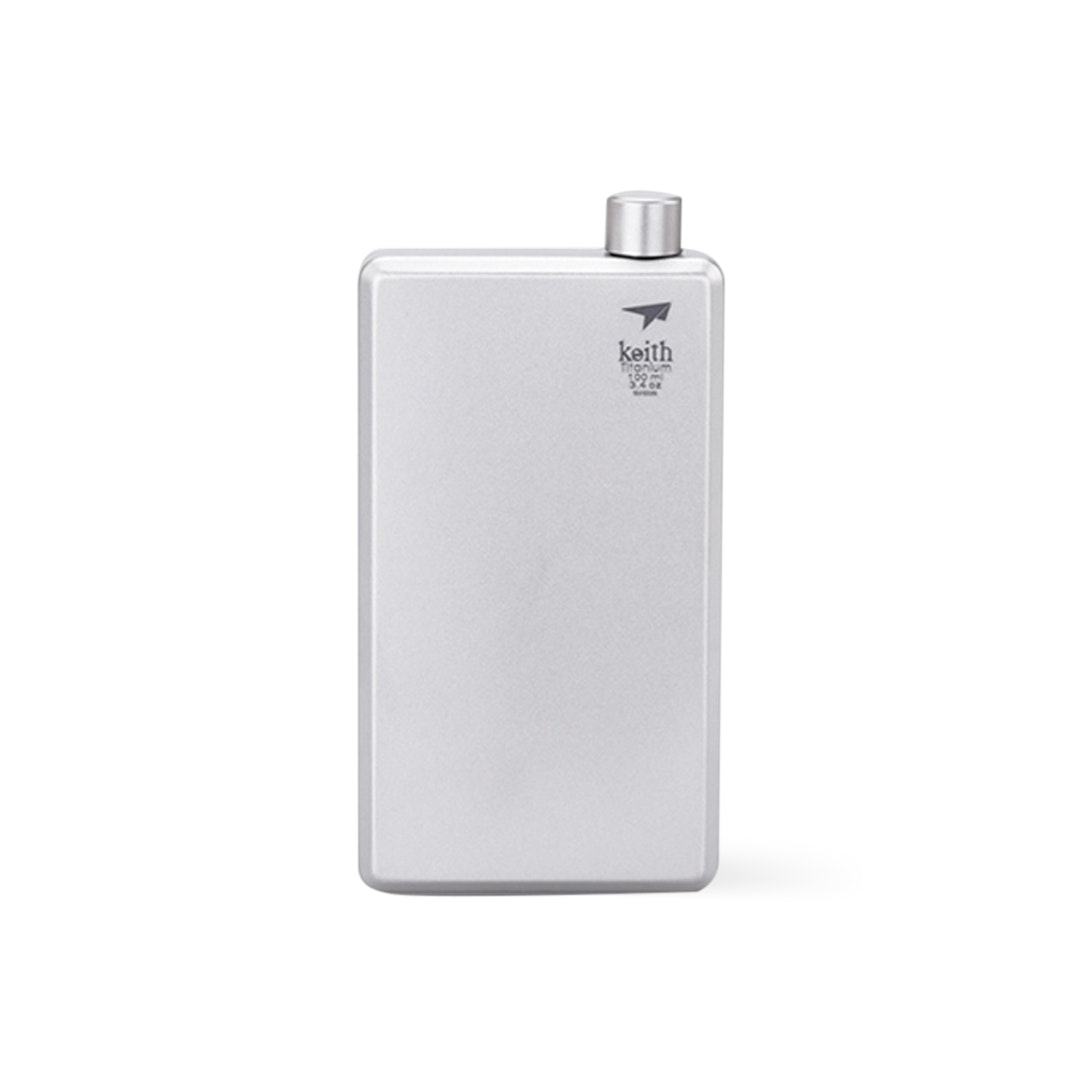 Keith Titanium Ti9306 Hip Flask