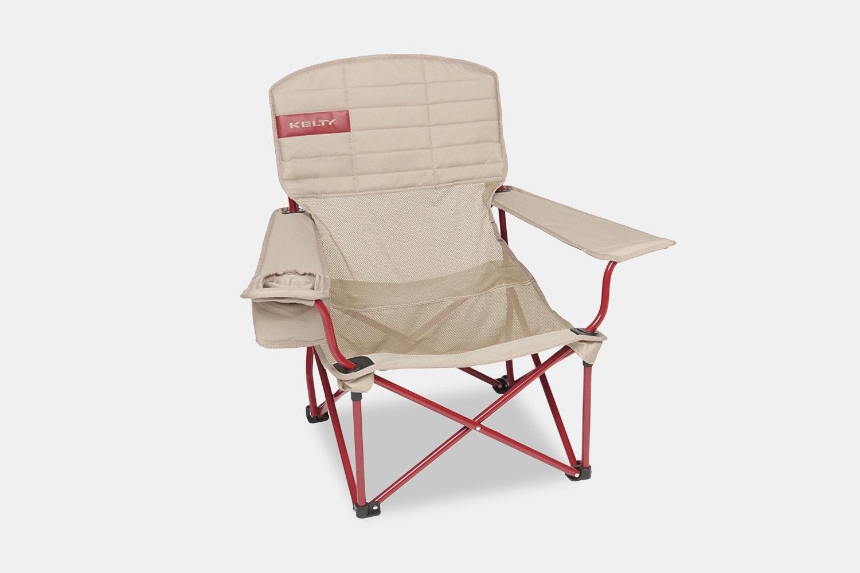 Mesh Lowdown Chair – Tundra/Chili Pepper