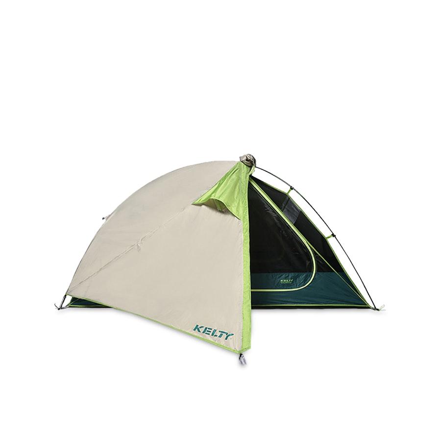 Kelty Trail Ridge 2 Three-Season Two Person Backpacking Camping Tent w Footprint