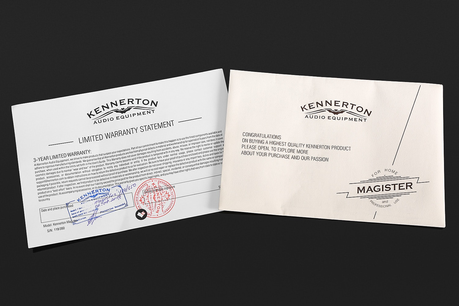 Kennerton Magister Light and Magister Headphones