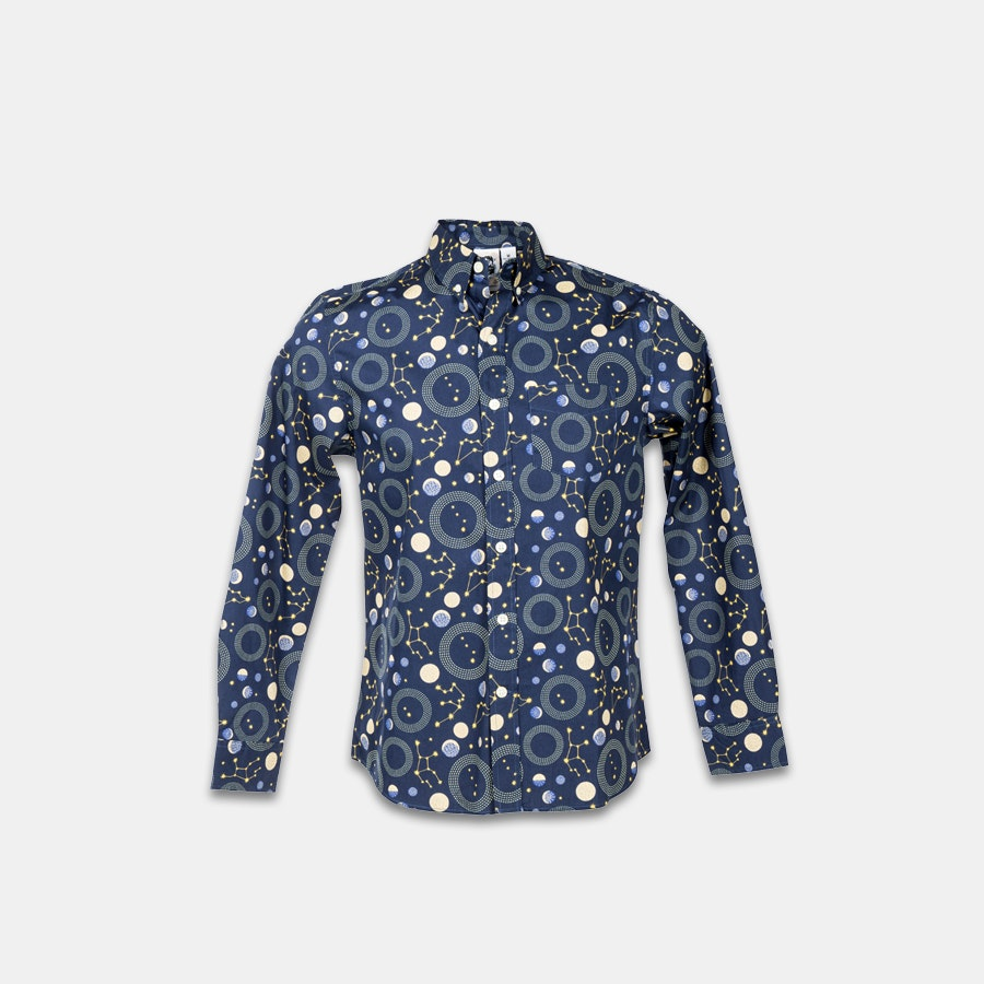 Kennington Long-Sleeve Button-Down Shirts