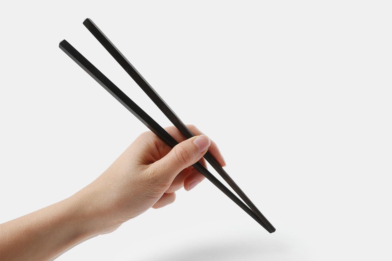 Kent Wang Ebony Chopsticks (6 Pairs)
