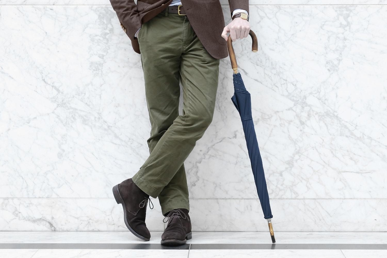 Kent Wang Solid Stick Umbrella