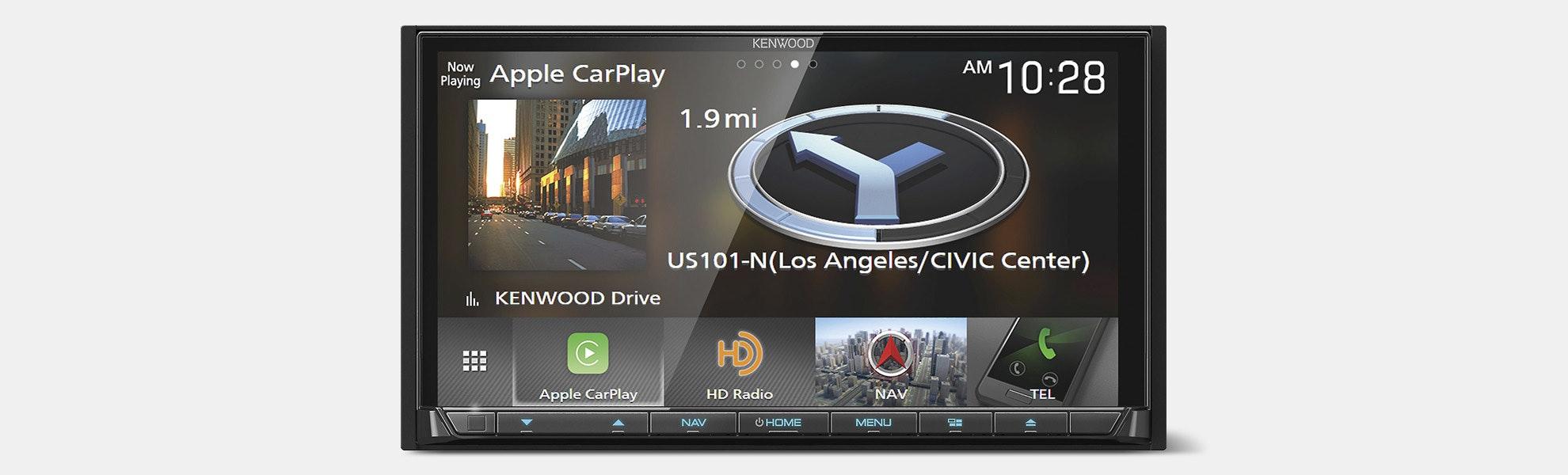"Kenwood 7"" DVD Receiver w/ Bluetooth"