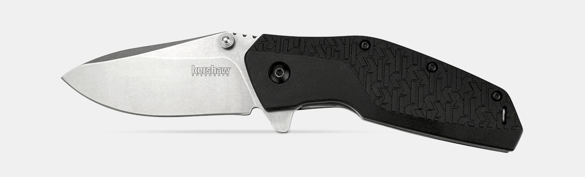 Kershaw Swerve Knife With SpeedSafe