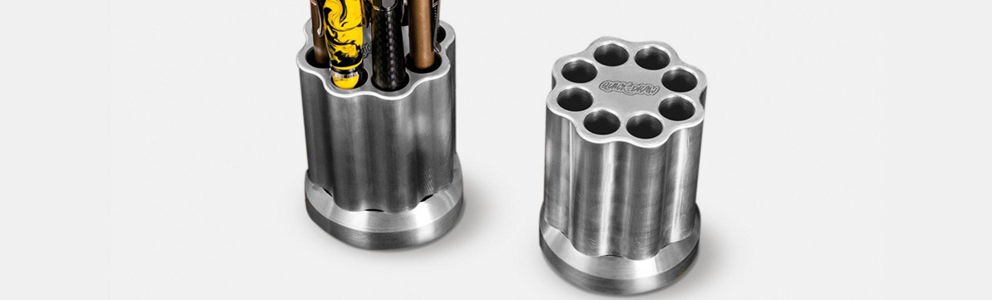 KeyBar Quick-Draw Revolving Pen Holder