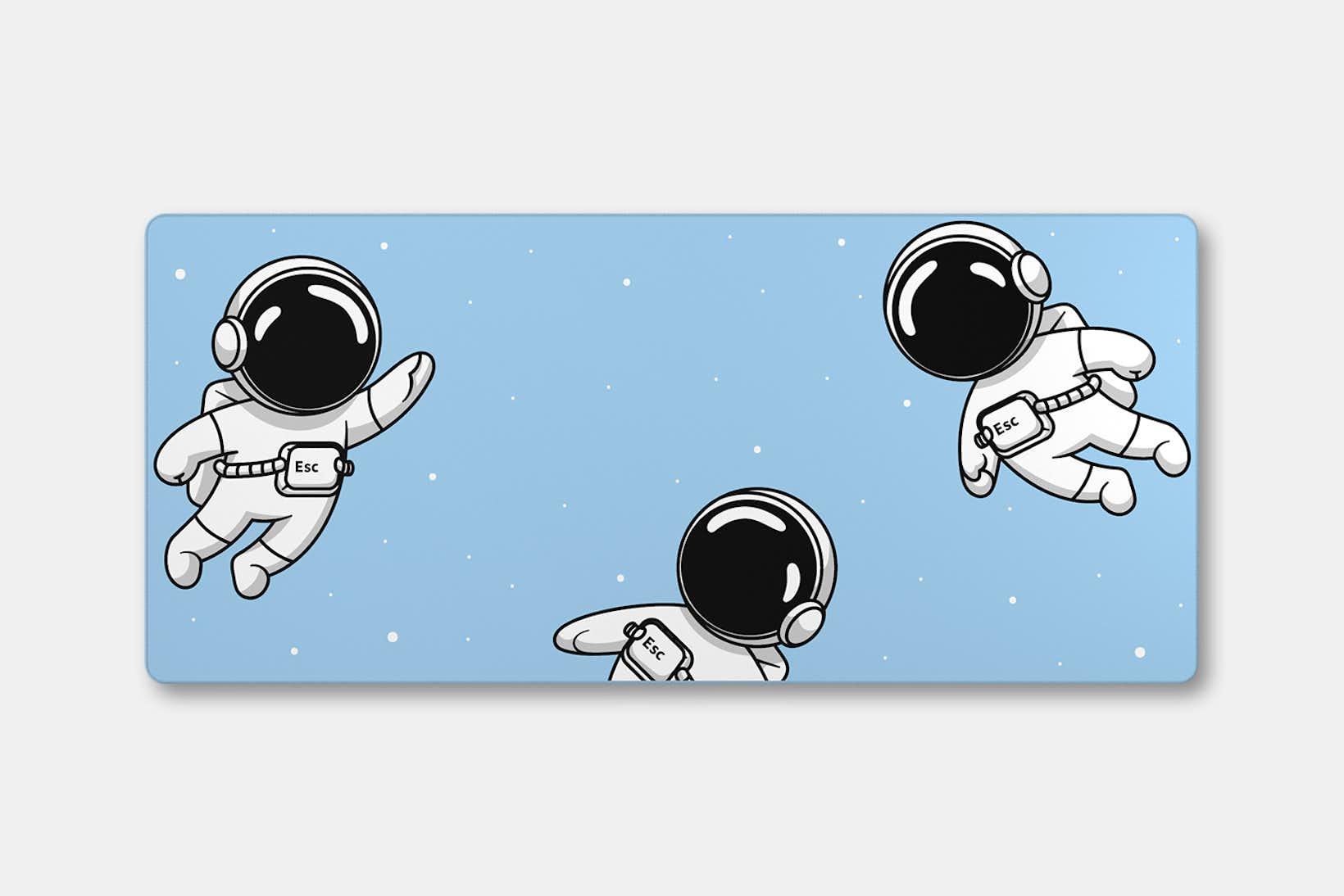 Keycadets Gravity Deskmat - Sky
