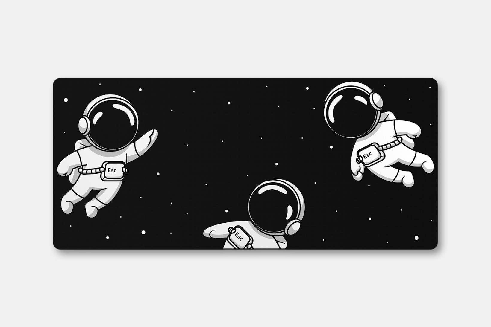 Keycadets Gravity Deskmat - Dark