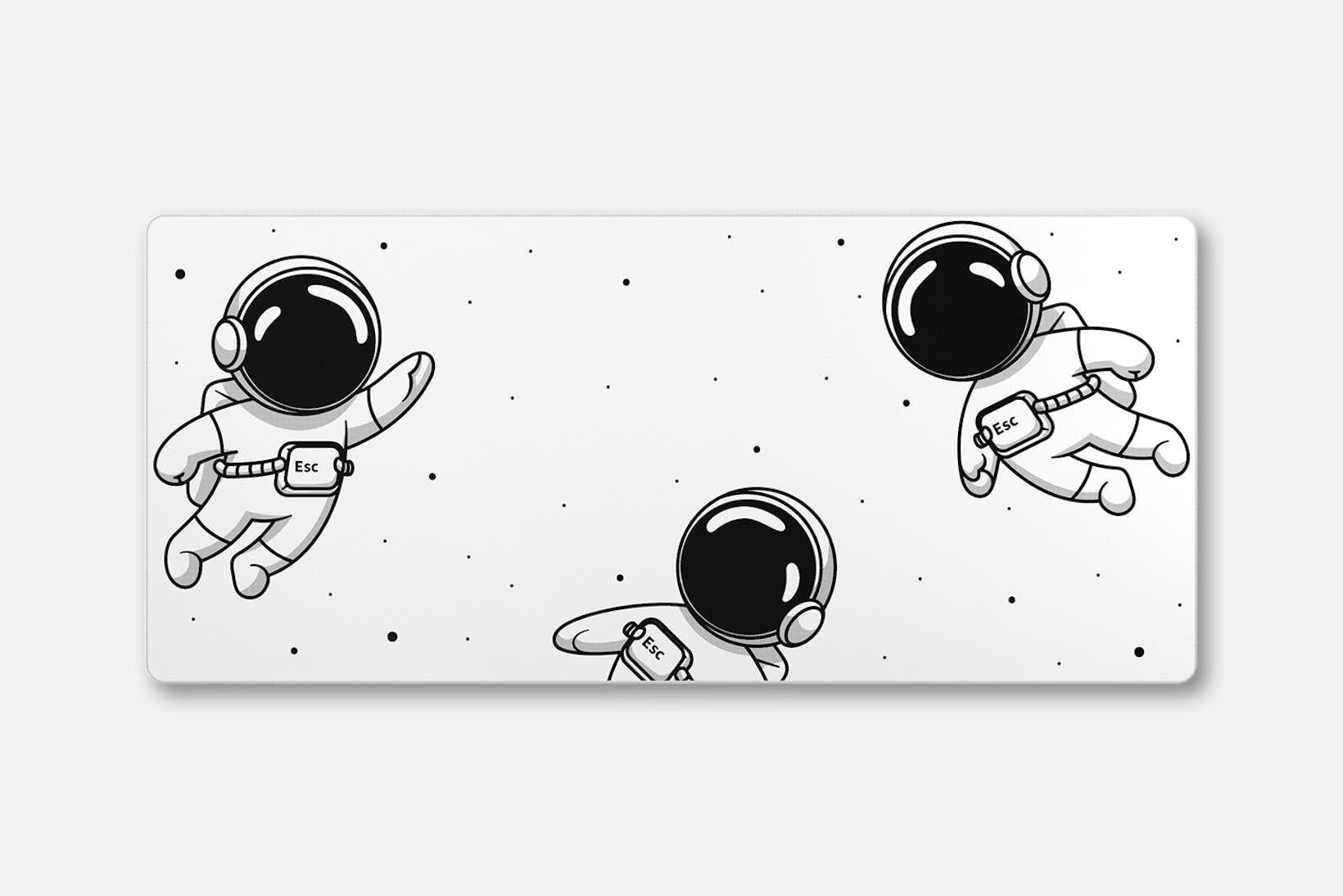 Keycadets Gravity Deskmat - Oreo