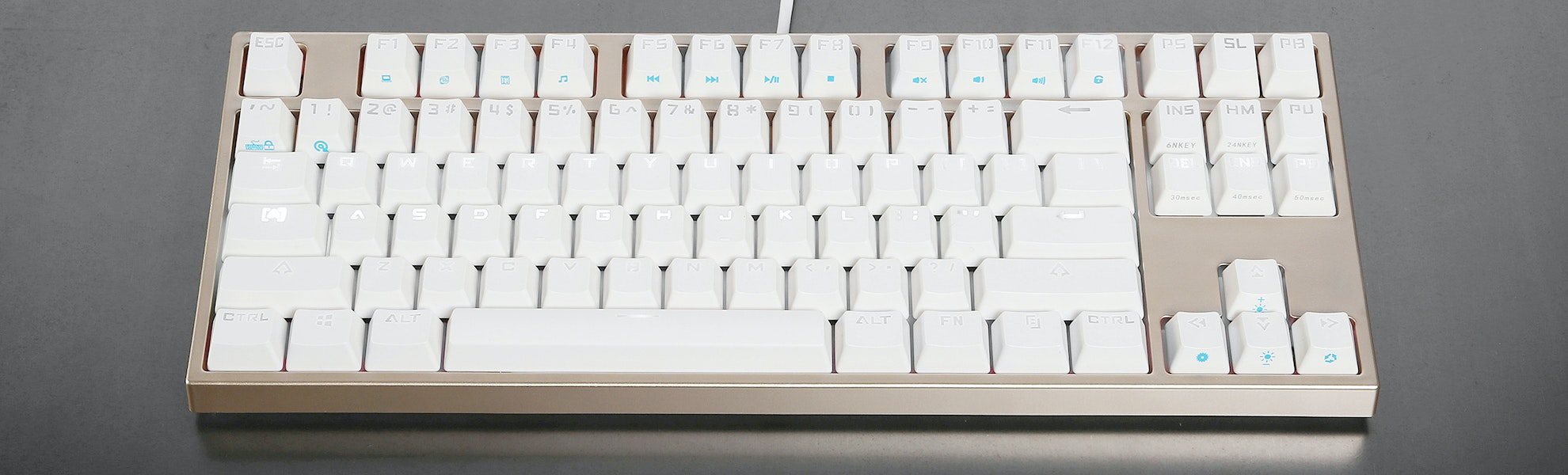 Keycool 87 Backlit Mechanical Keyboard