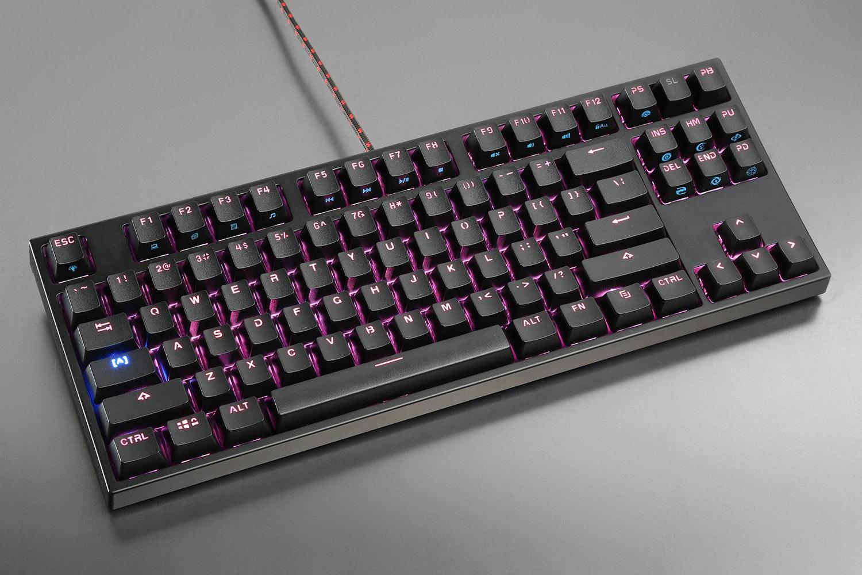 Black Case/Black Keycaps