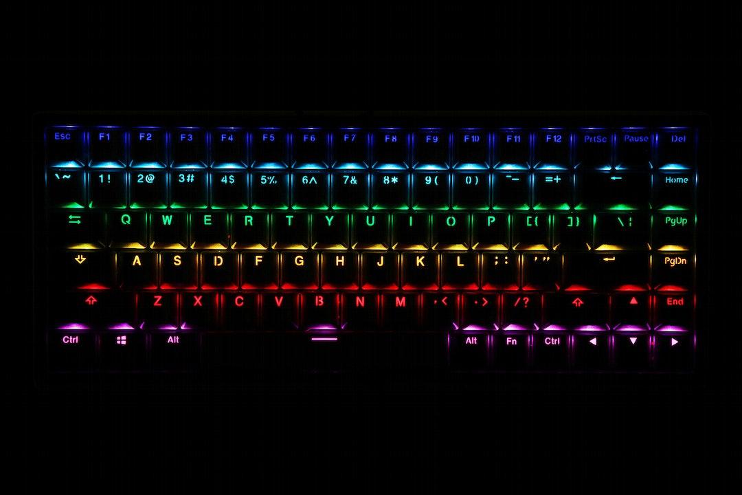 Keycool KC84 Wireless RGB Hotswap Mechanical Keyboard