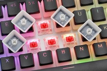 Keycool KC87 Dual-Mode Pudding Mechanical Keyboard