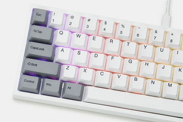 Keydous NJ68 Bluetooth Hot-Swappable RGB Mech Keyboard