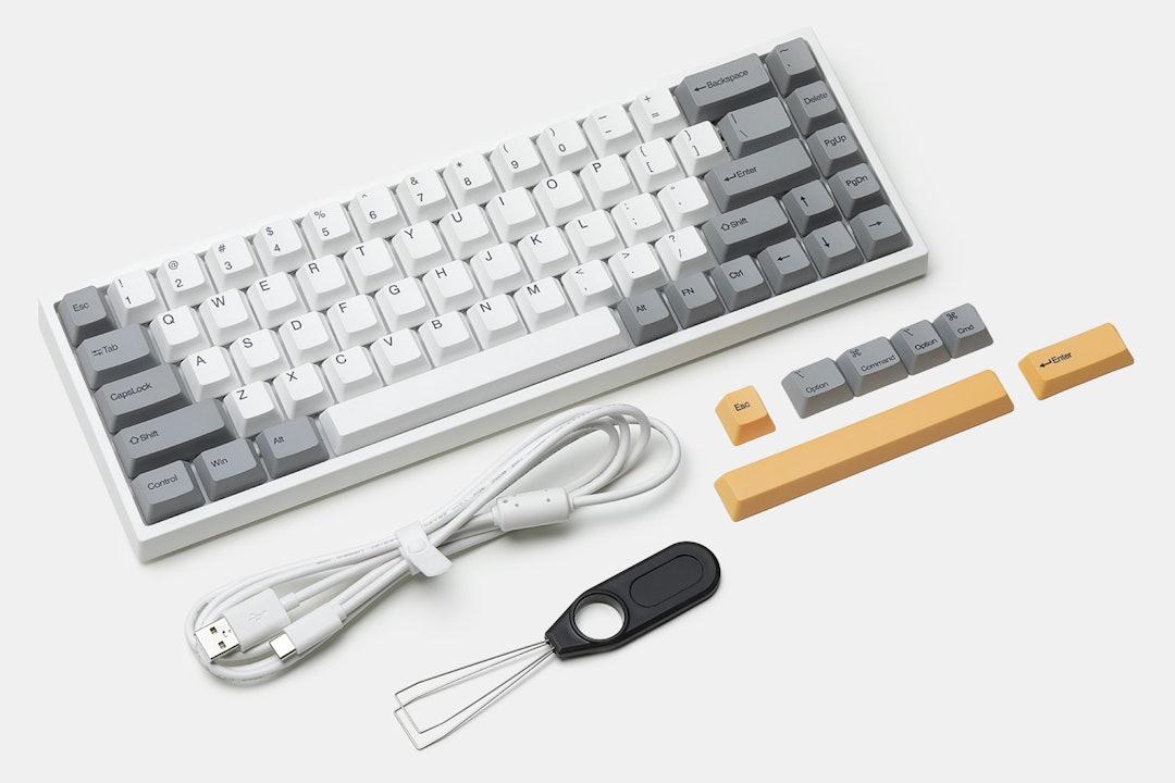 Keydous NJ68 Bluetooth RGB Hotswap Mechanical Keyboard