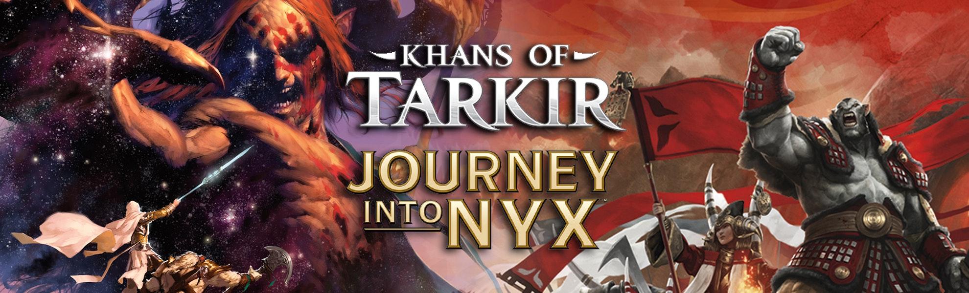 Khans of Tarkir & Journey Into Nyx Event Decks