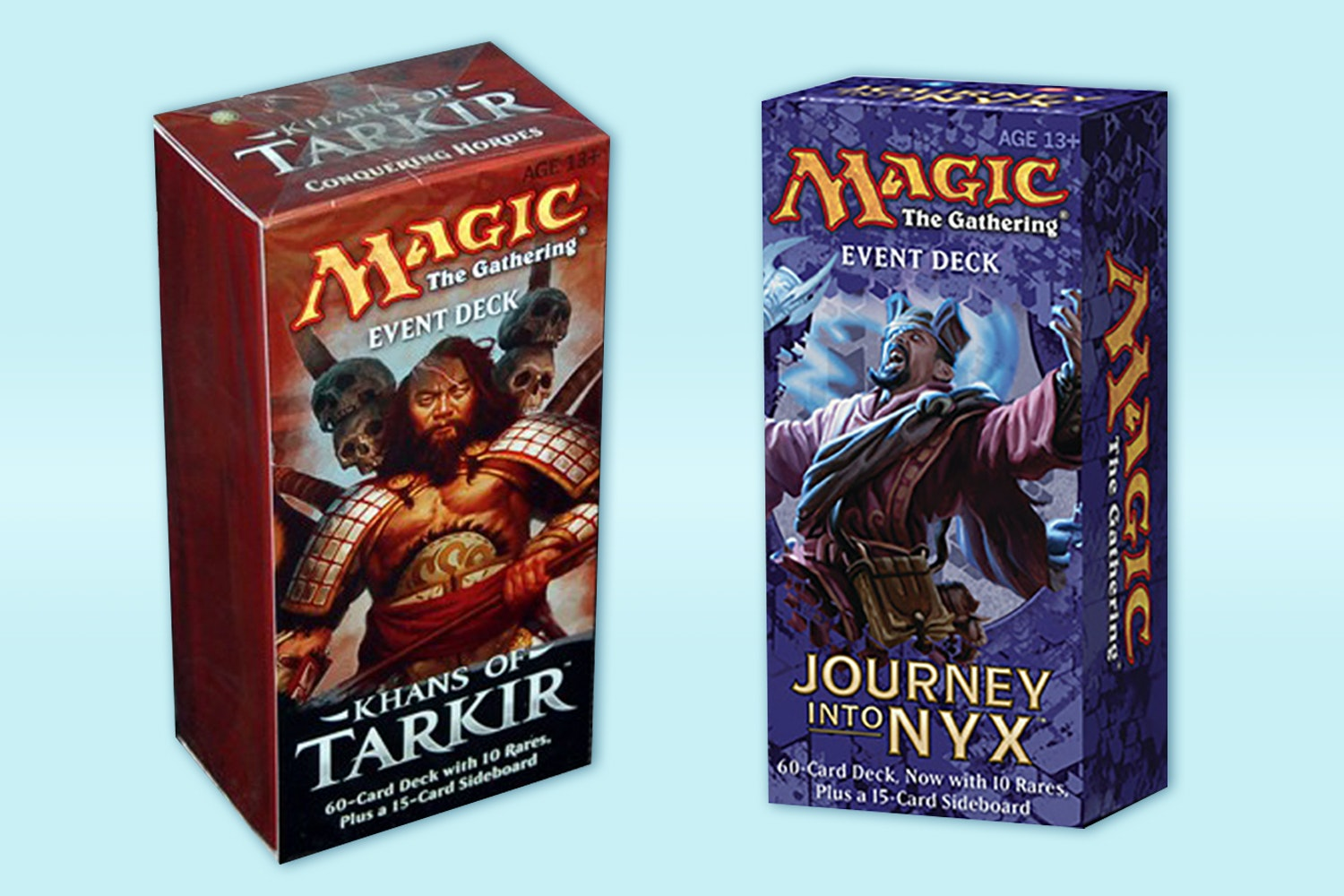 Khans of Tarkir & Journey Into Nyx Event Decks