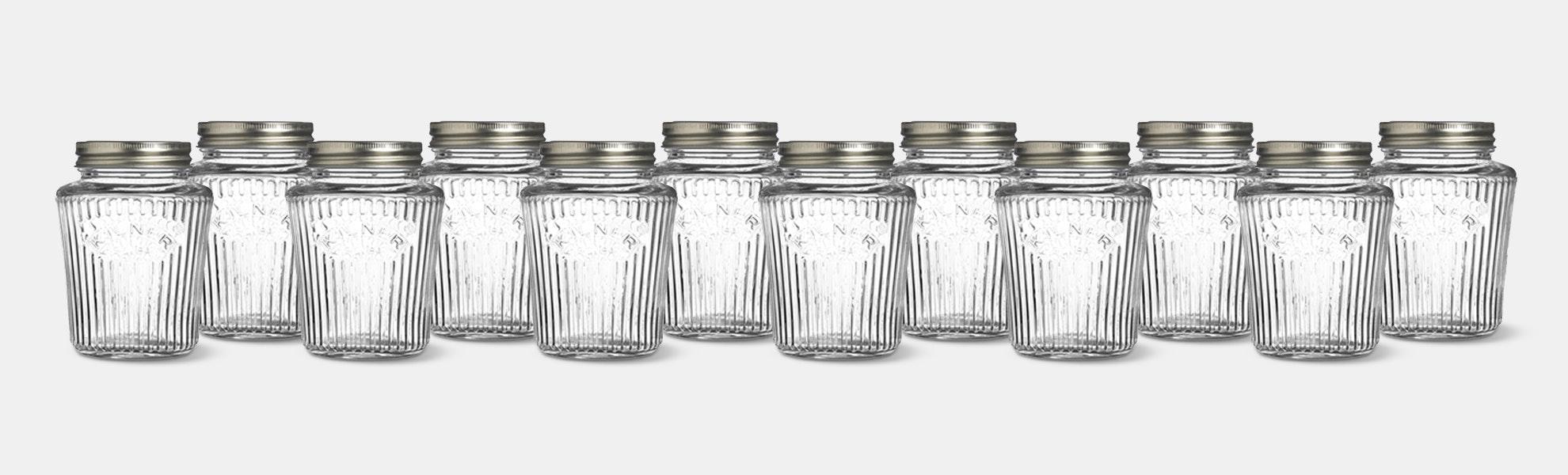 Kilner Vintage Preserve Jars (Set of 12)