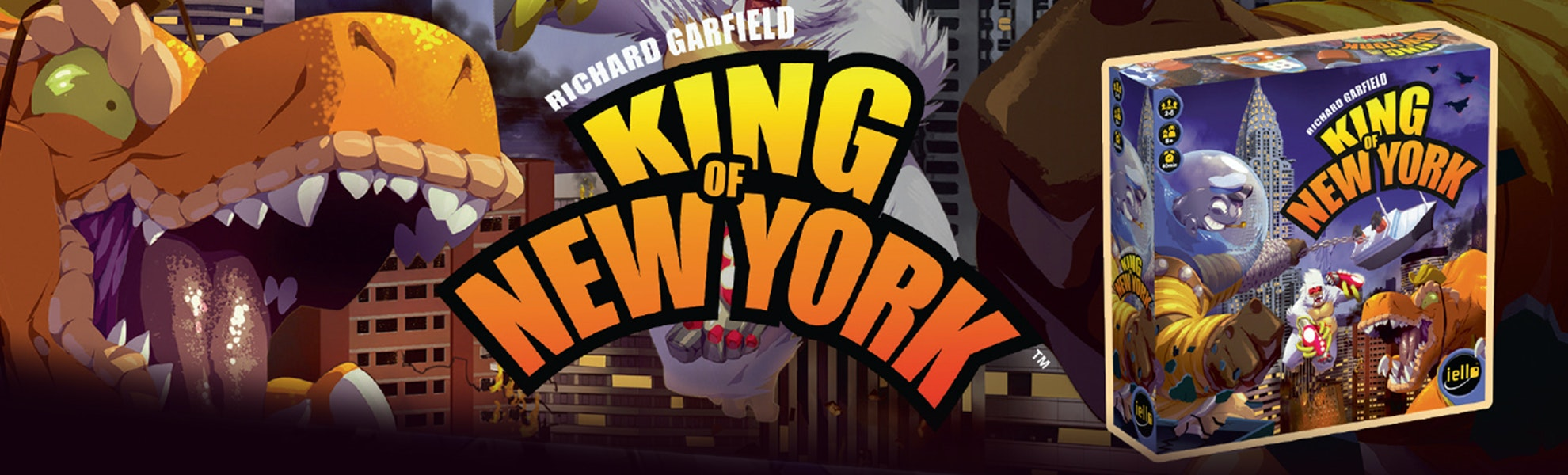 King of New York: Base Game & Power Up