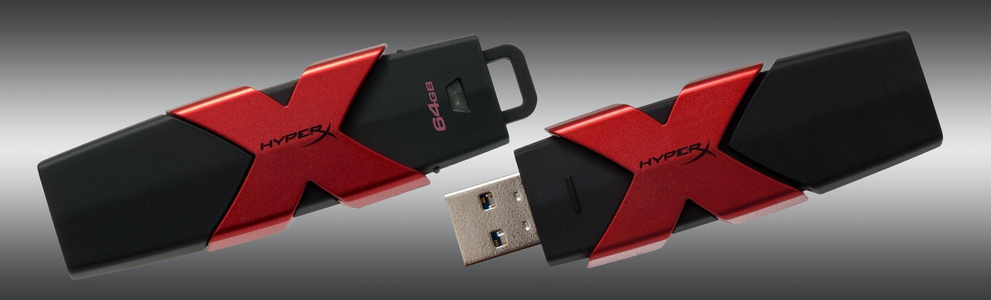Kingston HyperX Savage 64GB/128GB USB 3.0 Drive