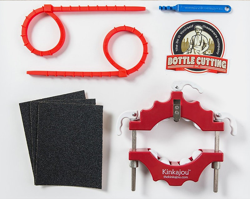 Kinkajou Bottle Cutter Standard Kit Canadian (Red/White)