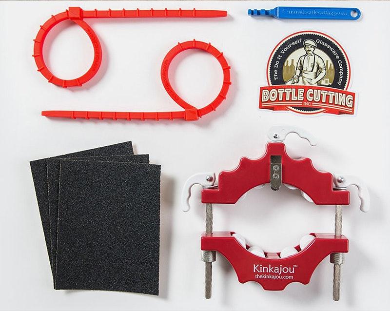 Kinkajou Bottle Cutter Standard Kit Canadian (Red/White)