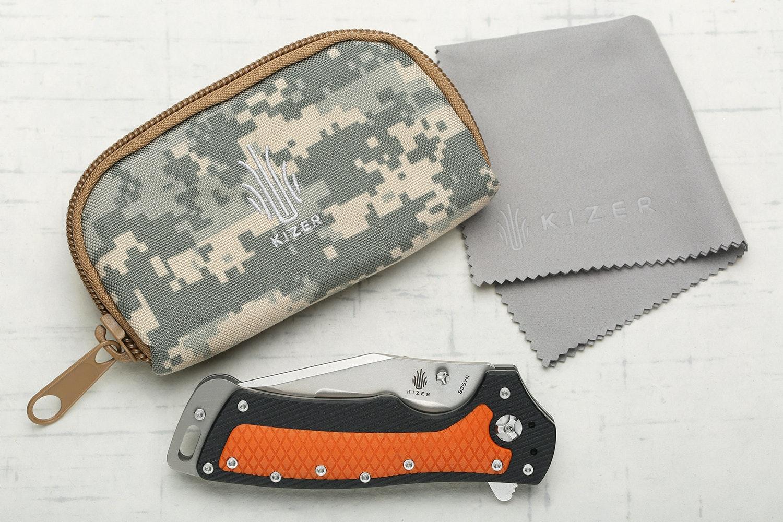 Kizer Ki4437 Glenn Klecker Folding Knife