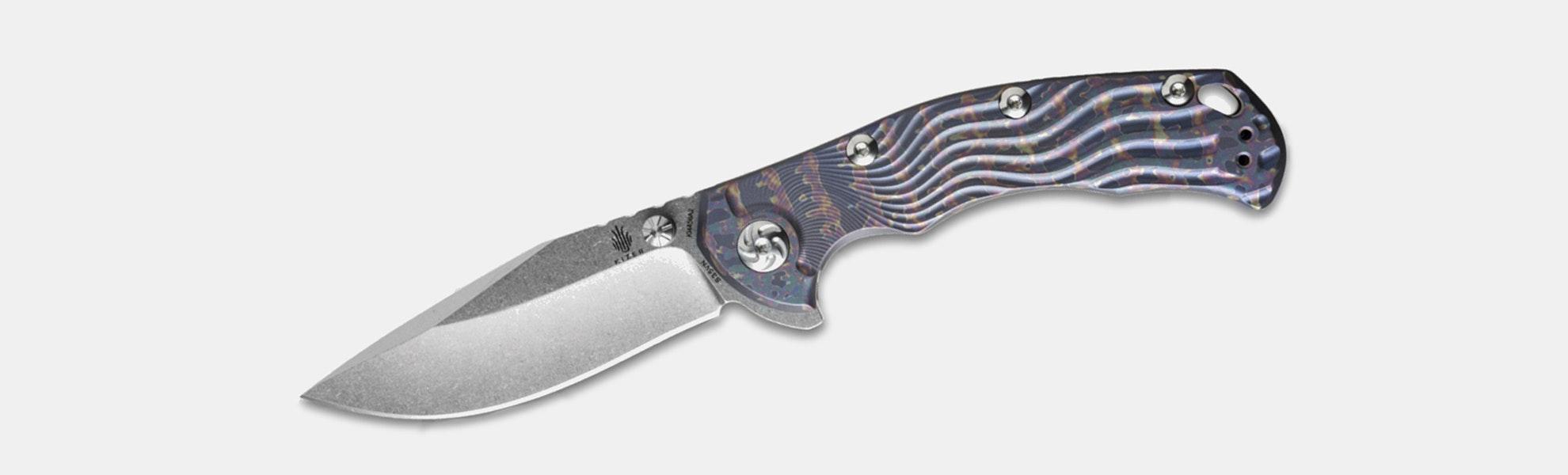 Kizer Ki4456A1 River Cat Frame Lock Knife