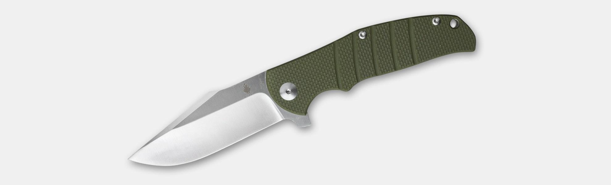 Kizer V4468A2 Laconico Intrepid Flipper Knife