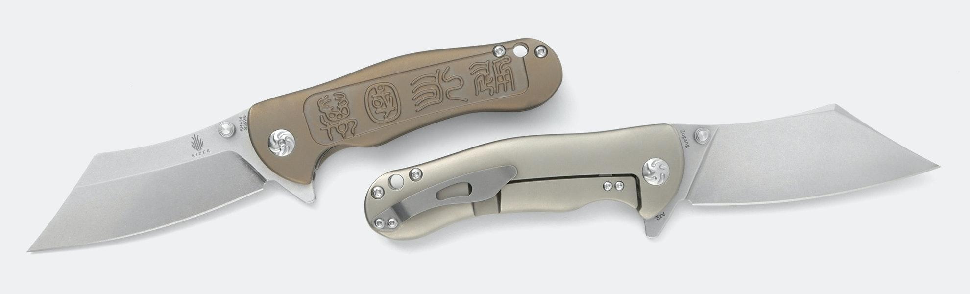 Kizer Zugang S35VN Frame Lock Knife