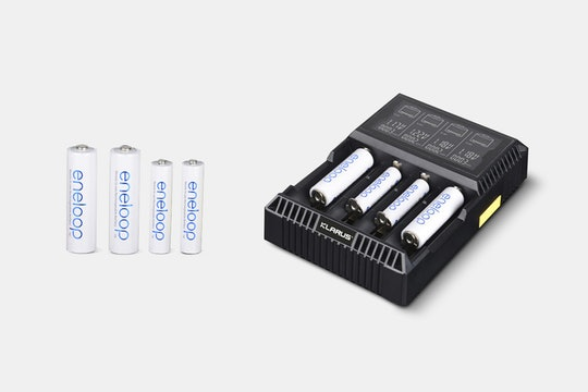 Klarus CH4S Four-Cell Battery Charger