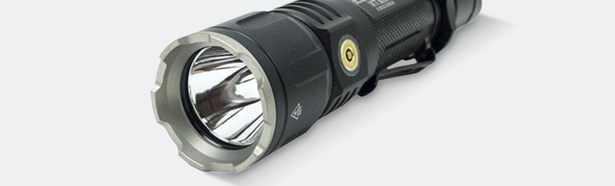 Klarus XT12S 1,600-Lumen Tactical Flashlight