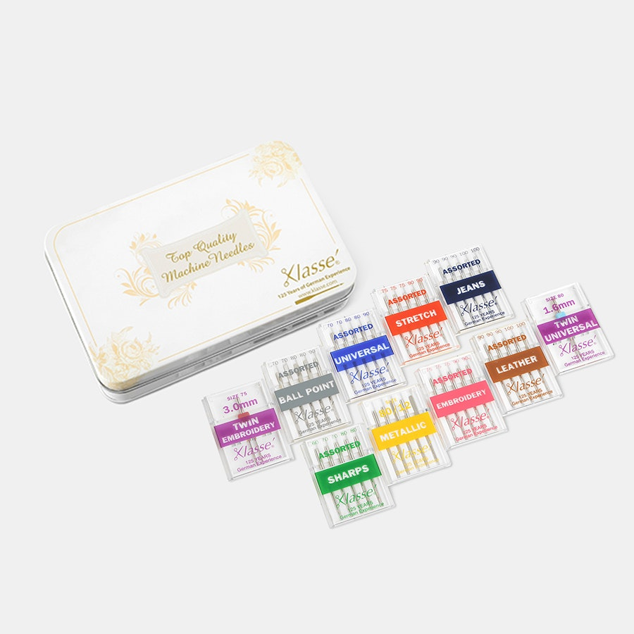 Klasse 10-Piece Needle Gift Tin