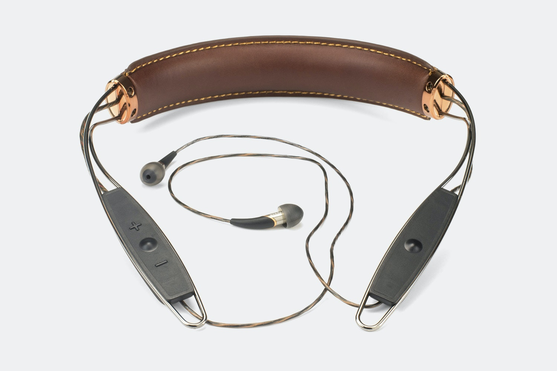 Klipsch X12 Bluetooth Leather Neckband Headphones