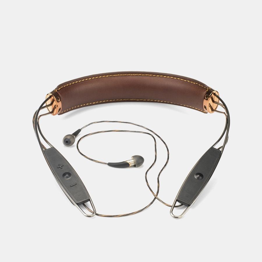 Klipsch X12 Bluetooth Leather Neckband Headphones