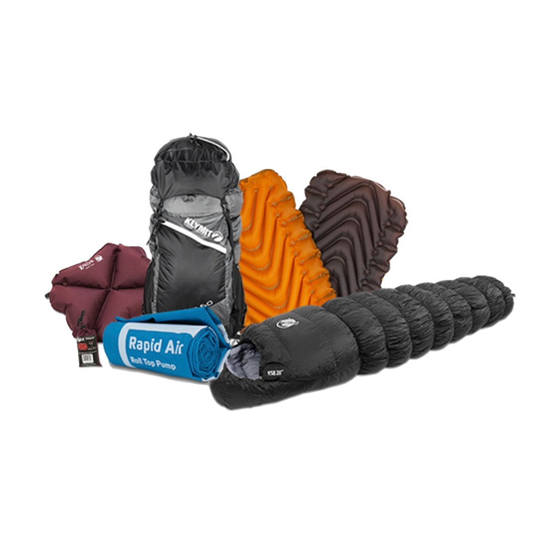 Klymit Backpacking Starter Bundle