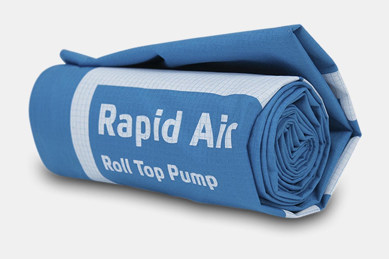 Rapid Air Pump (Push/Pull Valve) – Blue