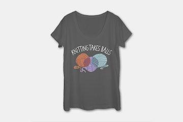 Kintting Takes Balls