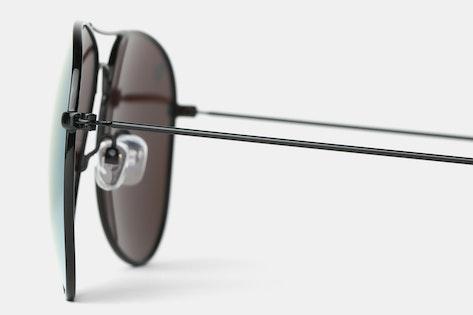b11224b64d Style Options. Knockaround Mile High Polarized Aviator Sunglasses
