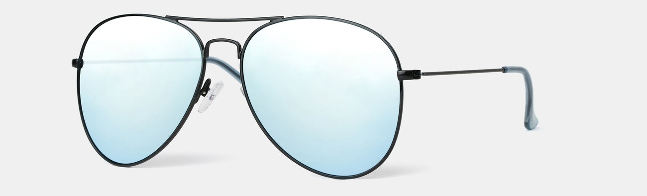fc5bb5d7be Knockaround Mile High Polarized Aviator Sunglasses