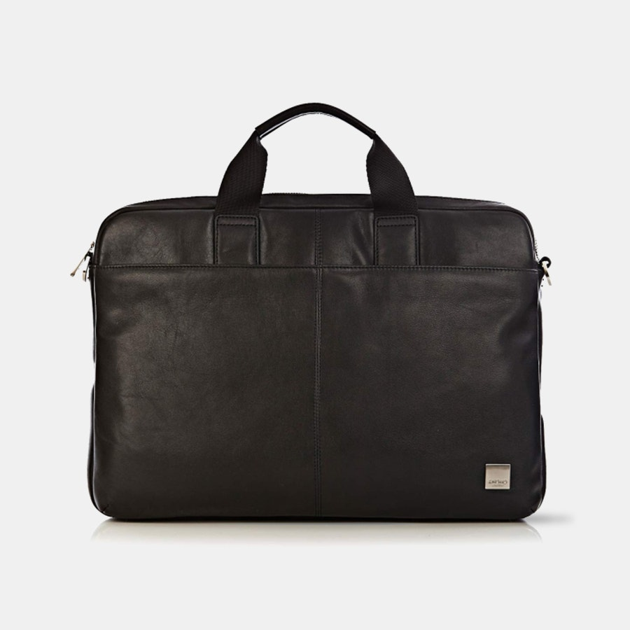 Knomo Durham Slim Leather Briefcase