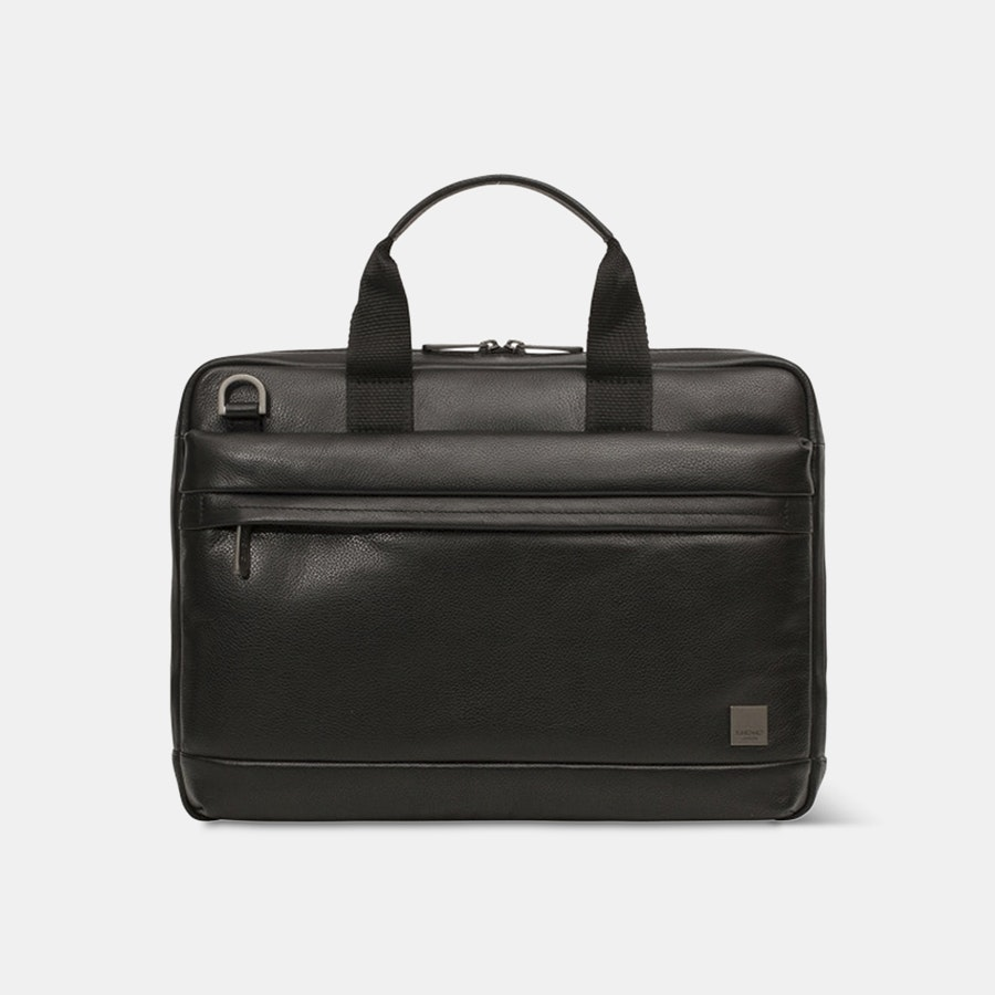 Knomo Foster Leather Laptop Briefcase