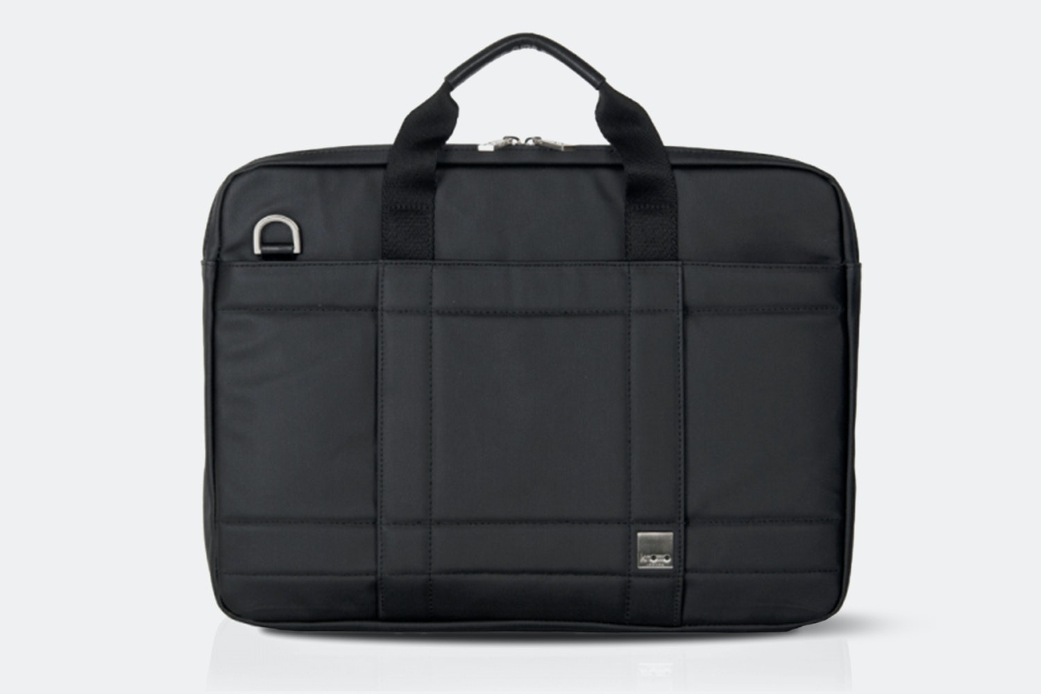 Knomo Lincoln Waxed Canvas Laptop Briefcase