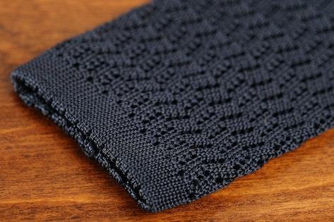Knottery New York Zigzag Knit Ties Price Reviews Massdrop