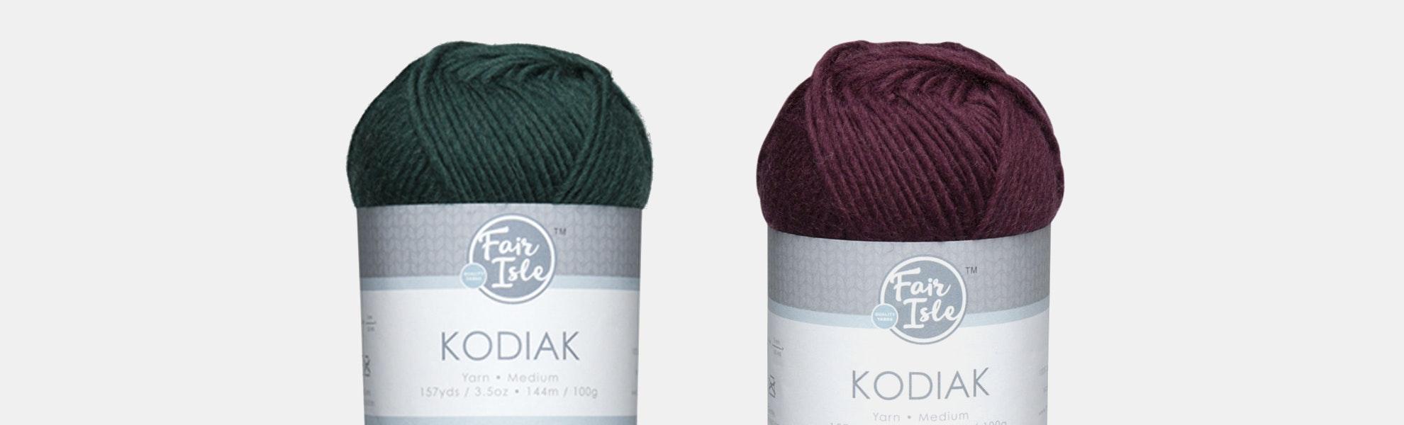 Kodiak Brights Yarn by Fair Isle (2-Pack)
