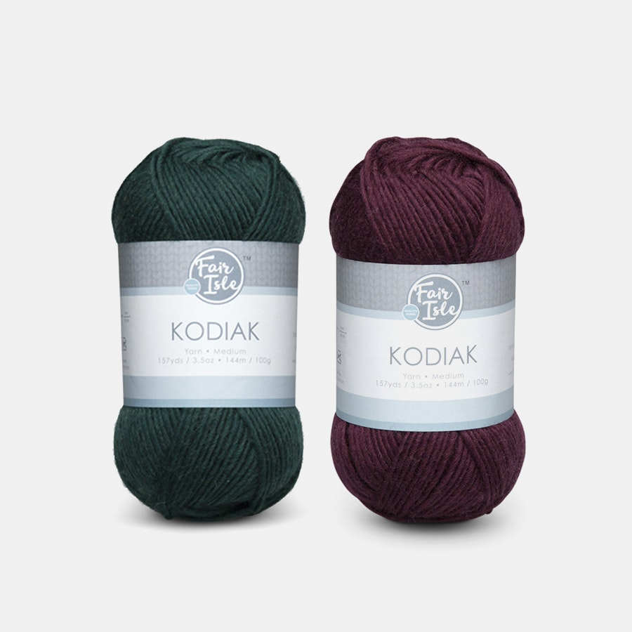Kodiak Brights Yarn by Fair Isle (2-Pack)