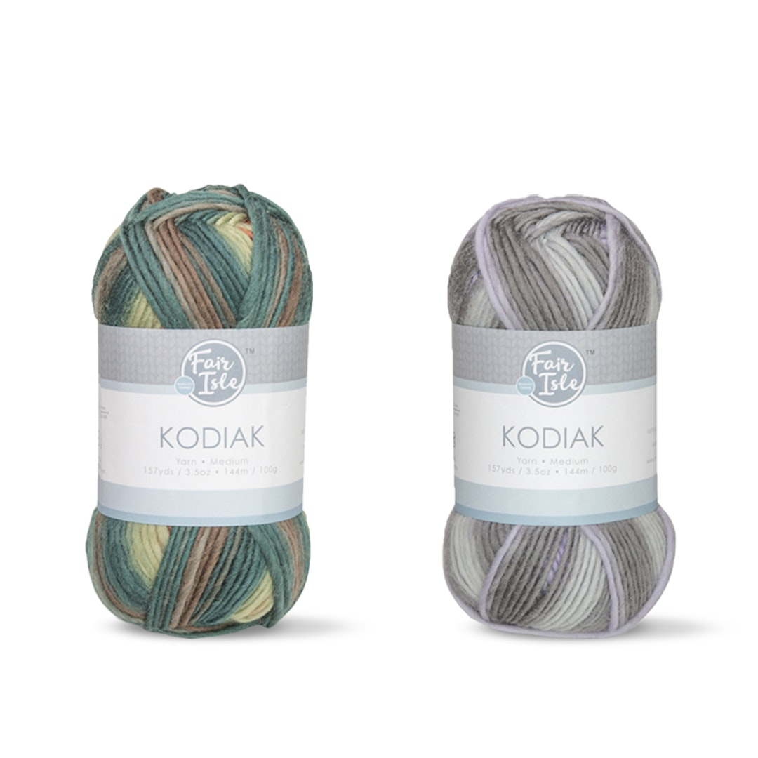 Kodiak Space Dye Yarn by Fair Isle (2-Pack)